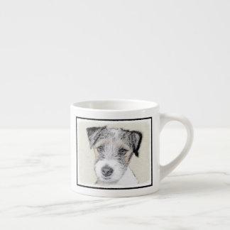 Xícara De Espresso Russell Terrier (áspero)