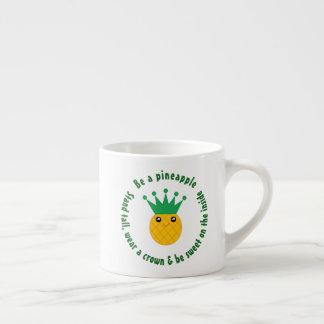Xícara De Espresso Seja umas citações inspiradas do abacaxi