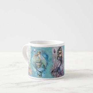 Xícara De Espresso Sereia bonita