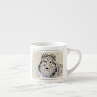 Xícara De Espresso Sheepdog de Shetland