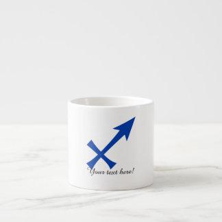 Xícara De Espresso Símbolo do Sagitário