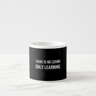 Xícara De Espresso Somente divisa de aprendizagem não perdedora