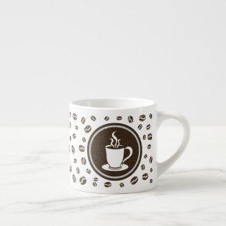 Xícara De Espresso Teste padrão cozinhando moderno bonito dos feijões