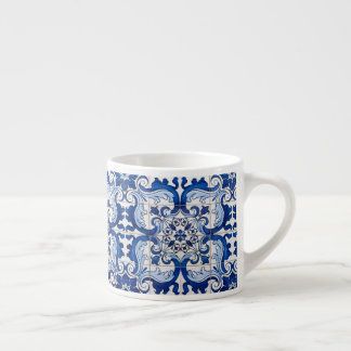 Xícara De Espresso Teste padrão de Azulejo do português