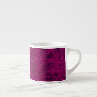 Xícara De Espresso Textura roxa