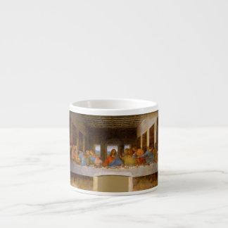 Xícara De Espresso Última ceia da Vinci