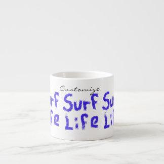 Xícara De Espresso vida Thunder_Cove do surf alguma cor