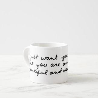 Xícara De Espresso você é surpreendente