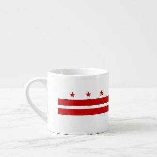 Xícara De Espresso Washington, bandeira da C.C.