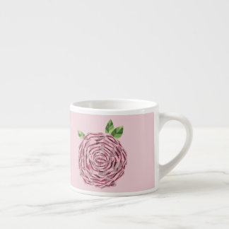 Xícara para Café Expresso Vitral Rosa