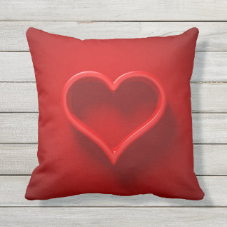 XL almofada 3D - forma de cardíaco com luzir e