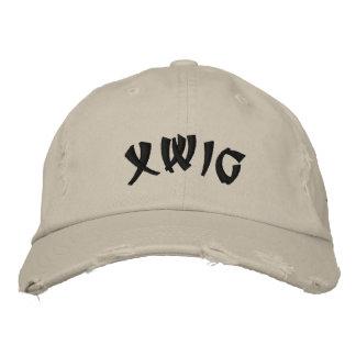 XWIG bordou o boné afligido