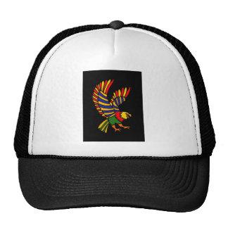 XX- arte popular crescente colorida de Eagle Boné