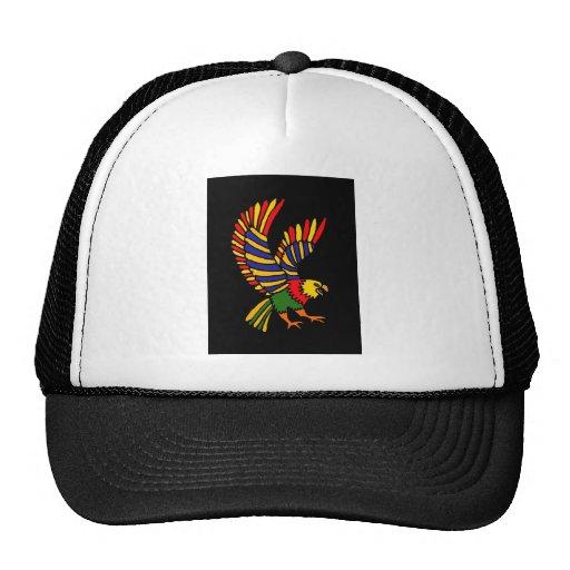 XX- arte popular crescente colorida de Eagle Bonés
