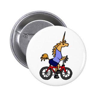 XX- desenhos animados da bicicleta da equitação do Bóton Redondo 5.08cm