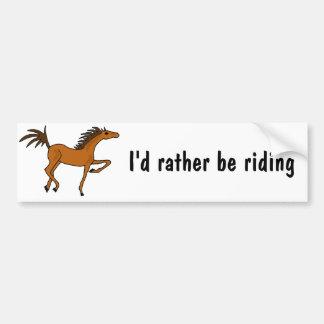 XX- desenhos animados impressionantes do cavalo de Adesivo