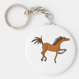 XX- desenhos animados impressionantes do cavalo de Chaveiro