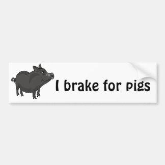 XX- desenhos animados inchados pote do porco Adesivos