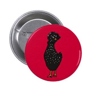 XX- galinha polonesa Funky Botons
