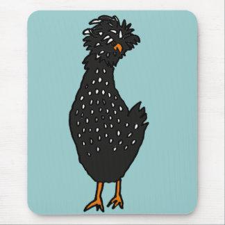 XX- galinha polonesa Funky Mouse Pad