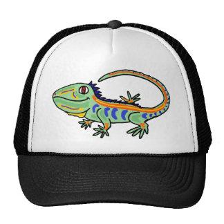 XX- iguana colorida Bonés