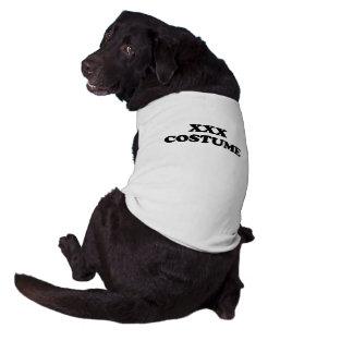 XXX TRAJE - - o Dia das Bruxas Camisa Para Cães