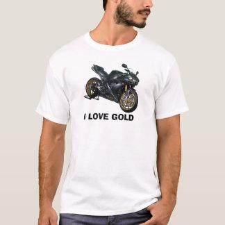 yamaha-r1-BG, EU AMO O OURO Camiseta