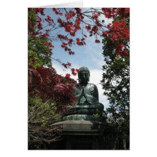Yanaka-Buddha-Keigo-NY Cartão