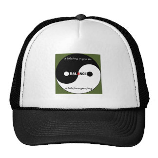 """""""Yin, chapéu do camionista de Yang"""" Boné"""
