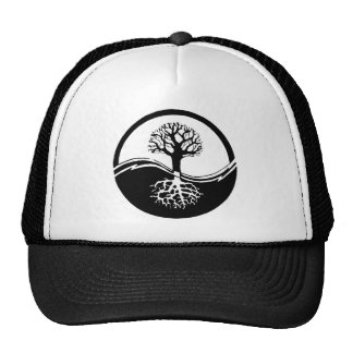 Yin e árvore de yang de vida boné