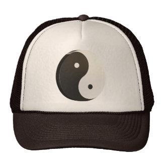Yin e Yang 3D Boné
