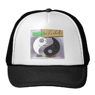 Yin encontra o zen de Yang engraçado Boné