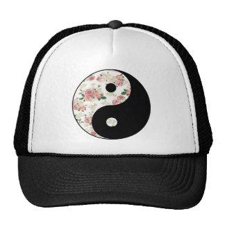 Yin floral e Yang Boné