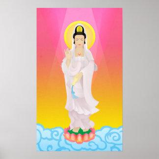 yin guan no art deco pôster