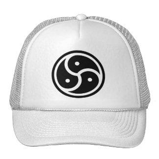 yin & yang de 3 maneiras boné
