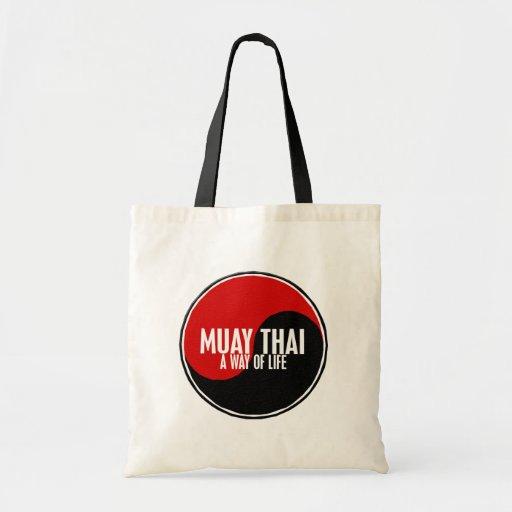 Yin Yang Muay 1 tailandês Bolsa De Lona