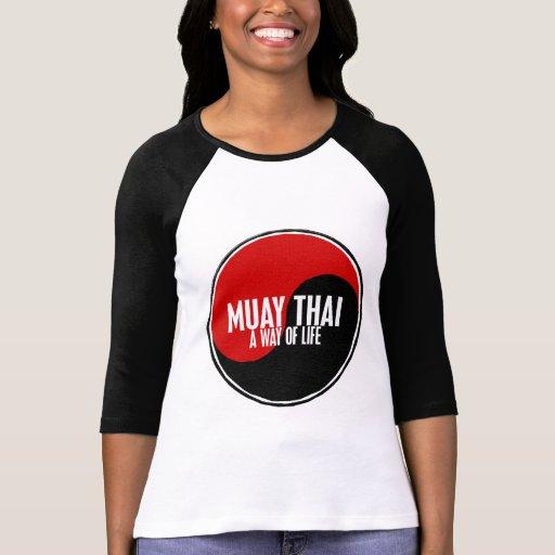 Yin Yang Muay 1 tailandês Tshirt