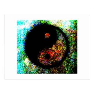 Yin Yang multi os presentes de Zazzle do MUSEU Cartão Postal