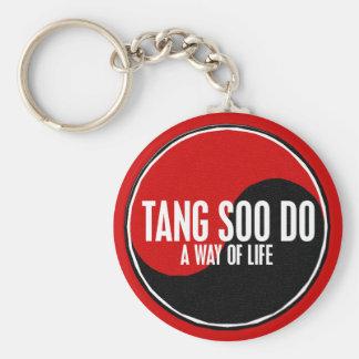 Yin Yang Tang Soo faz 1 Chaveiro