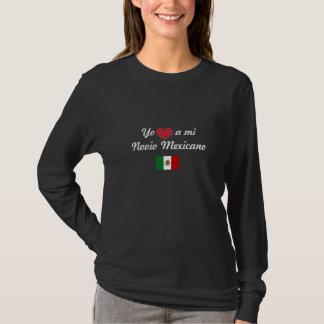 Yo <3 um MI Novio Mexicano Camiseta