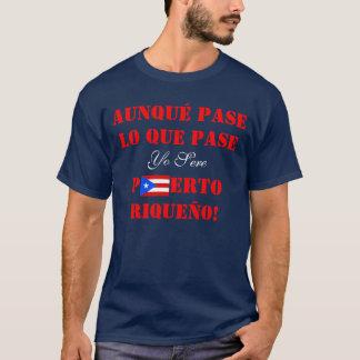 Yo Puerto Sere Riqueño, camisa porto-riquenha do