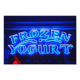 Yogurt congelado em Florença Impressão Fotográficas
