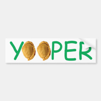 Yooper - autocolante no vidro traseiro dos pastéis adesivo
