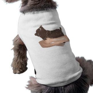 Yorkshire terrier camiseta para caes