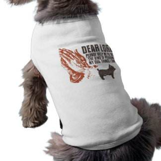 Yorkshire terrier camisa sem mangas para cachorro