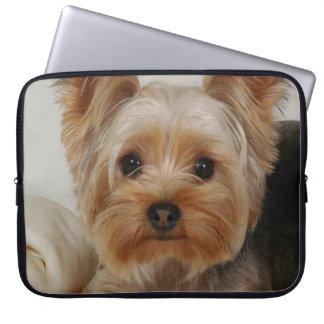 Yorkshire terrier lindo sleeve para laptop