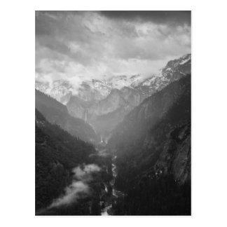 Yosemite Cartão Postal