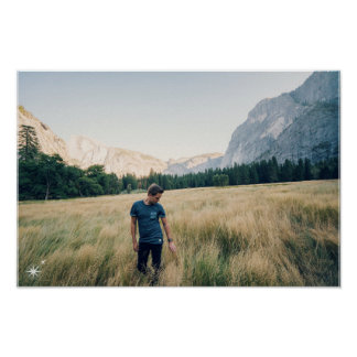 Yosemite Nacional parque poster