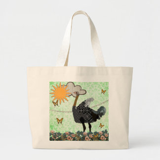 You Are My Sunshine Ostrich  Bag