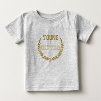 Young&Gifted Camiseta Para Bebê